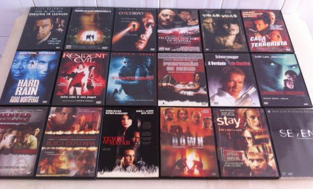 dvd/s filmes de acção originais com selo igae