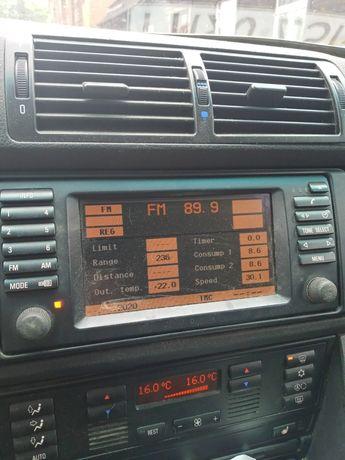 Sprzedam oryginalne radio bmw e39 2 din