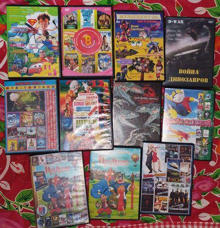 Мультики и фильмы для детей за шоколадку DVD диски