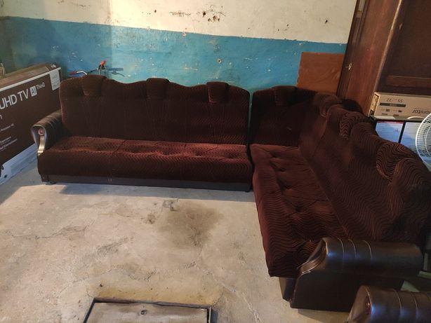Диван уголок + 2 кресла