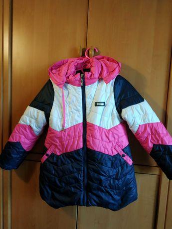Курточка девочке зима