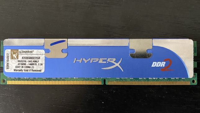 Kingston HyperX DDR2 KHX8500D2/2GR