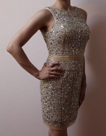 Sprzedam piękną sukienkę rozmiar M sklep Marina Ptak Rzgów