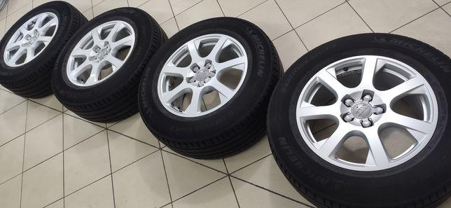 "Диски r-17 5*112, 8j, et38 (Audi); шины r-17 235/65 ""Michelin"""