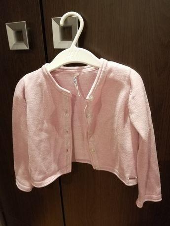 Sweterek z blyszczaca nitka coccodrillo 92
