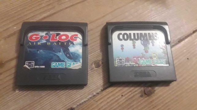 Jogos Game Gear Columns e G Loc