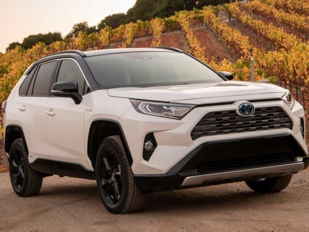 Разборка Toyota Rav4 Hybrid бампер 2019  тойота рав4 капот