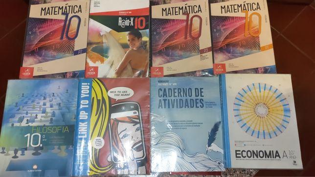Vários livros 10°Ano