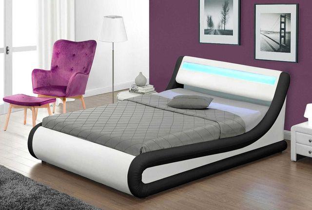 Nowoczesne łóżko do sypialni 138 kolor i rozmiar do wyboru