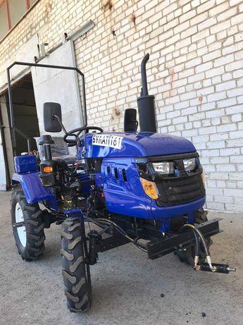 Трактор Булат 160 люкс фреза+плуг+Міні трактор,Лідер, Мототрактор