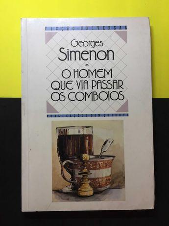 Georges Simenon - O homem que via passar os comboios (Portes Grátis)