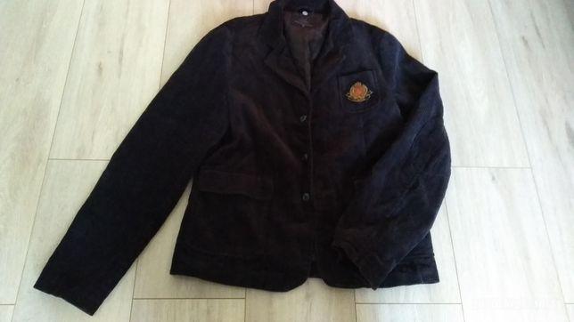 Вельветовый пиджак на мальчика 164р.