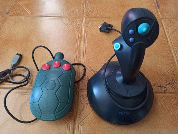 Cheetah Tortoise controller + Joystick antigo da Primax