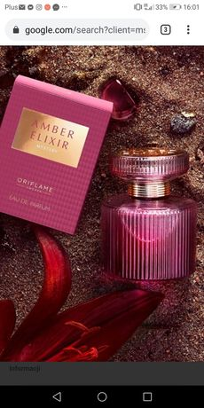 Amber elixir mystery oriflame
