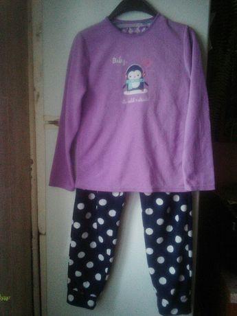 Подростковая флисовая пижама. Домашний костюм.