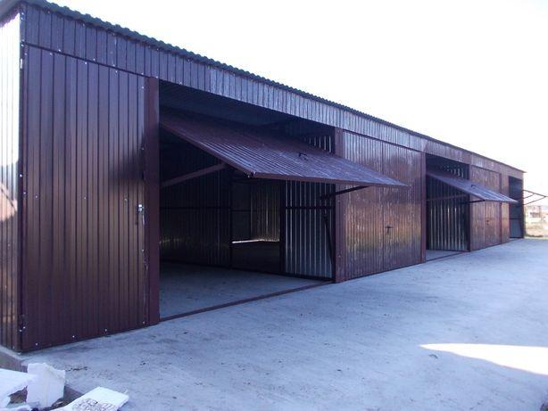 garaż blaszany wiata hala 16x7 producent blaszak 7x16