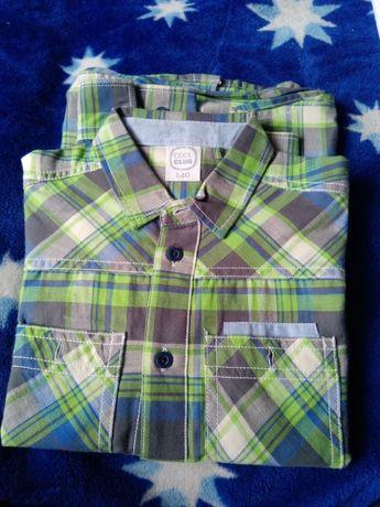 Piękne koszule chłopięce rozmiary 110-146 różne