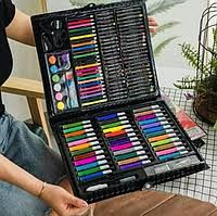 Набор для творчества и для рисования на 150 предметов,чемодан