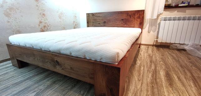 Łóżko z unoszonym stalażem 160x200