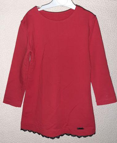 Sukienka czerwona  święta r 110