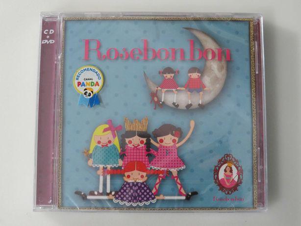 """Rosebonbon - CD + DVD """"Recomendado pelo CANAL PANDA"""" Novo e Selado"""
