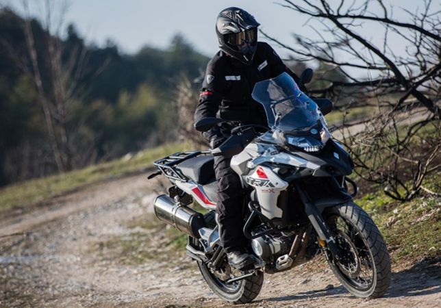 Мотоцикл BENELLI TRK502Х , эндуро , кросс