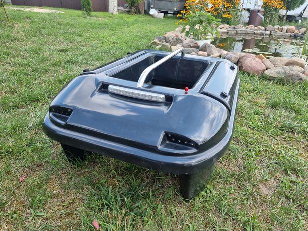 Łódka zanętowa Smart Boat II + echo toslon t640 GPS markery