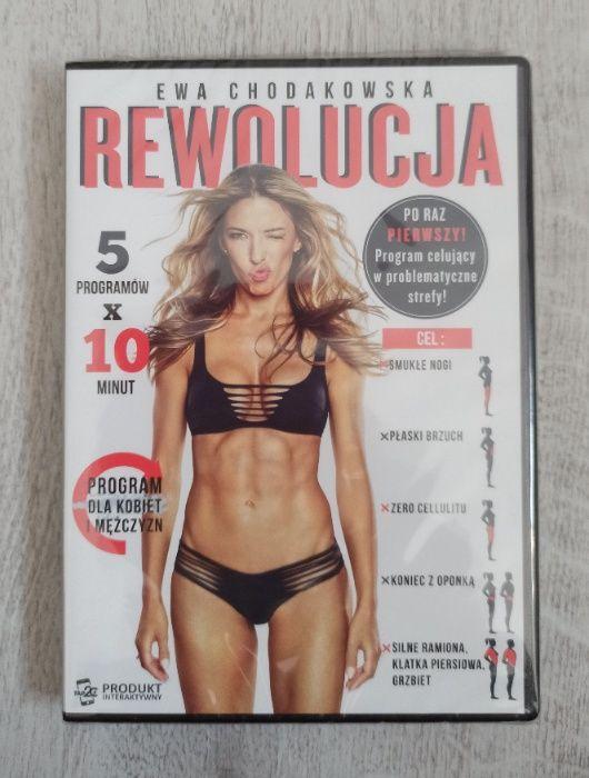 NOWA płyta DVD Chodakowska REWOLUCJA Szczecin - image 1