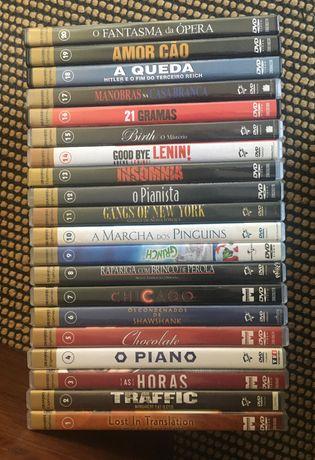 20 DVD's coleção Expresso novos