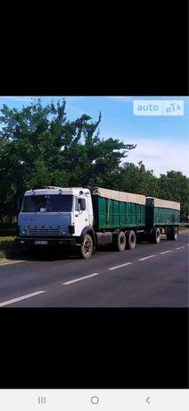 КАМАЗ 5320 десятка с прицепом