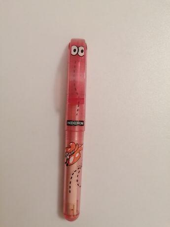 Caneta rosa borboleta inoxcrom edição limitada NOVA portes incluidos