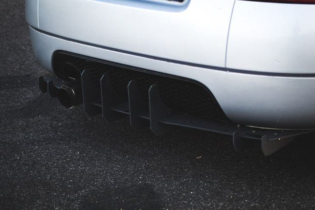 Dyfuzor Audi TT 8N Dokładka Spoiler