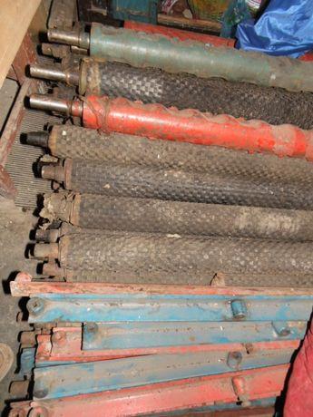 Вальцы резиновые и металлические очистителя Херсонец.