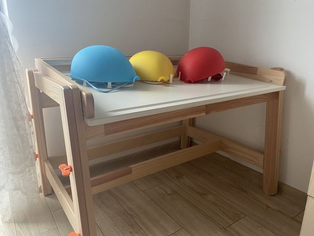 Biurko białe dziecięce Ikea