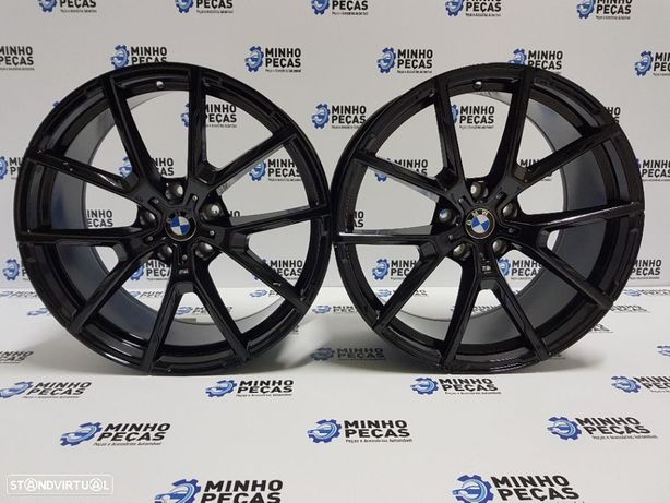 "Jantes BMW Style 728M em 20"" Gloss Black"
