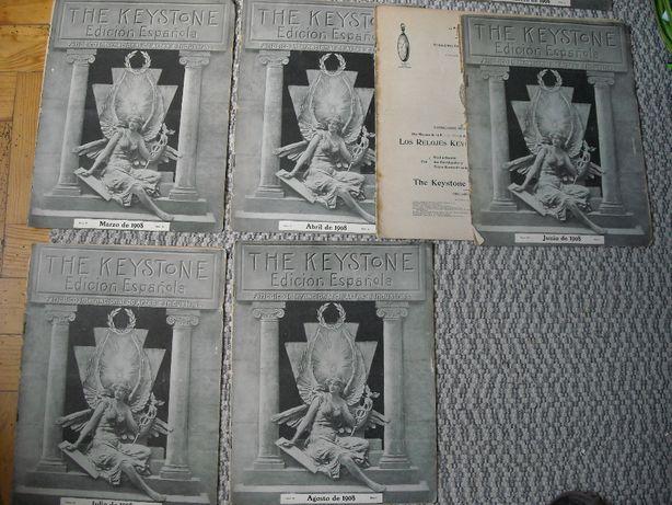 Fasciculos Keystone 1907-08 edicao espanhola
