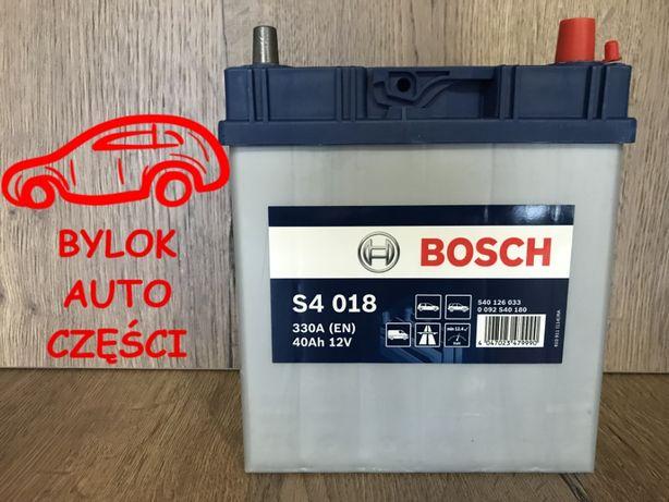 """AKUMULATOR 40AH/330A """"Bosch"""" NOWY!!! 187x140 wys 227 """"Bylok Gliwice"""""""