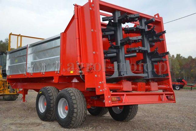 Rozrzutnik obornika ROLTRANS IGAMET 6 8 ton! Wałki pionowe
