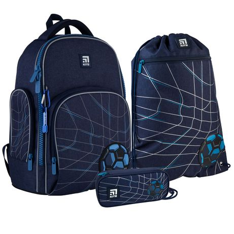 Набір set_k21-706m-3рюкзак + пенал + сумка для взуття Kite