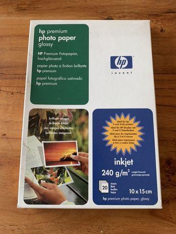 HP Premium photo paper glossy