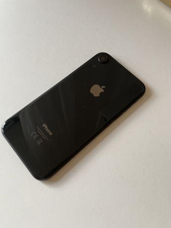 Vidro/Capa traseira de iphone XR black (peça)