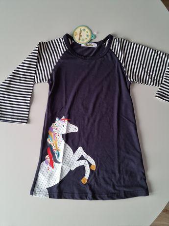 Nowa sukienka bawełniana