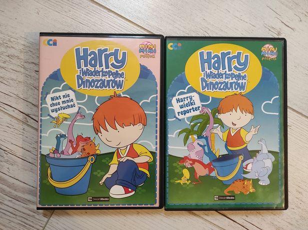 Harry i wiaderko pełne dinozaurów bajka DVD