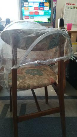 Pokrowiec/folia przeciwdeszczowa na fotelik do 13kg.