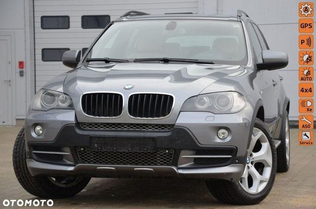 BMW X5 Opłacona 3.0D 7-os. Kamera Serwis Jasna Skóra Bi-xenon Navi Panorama