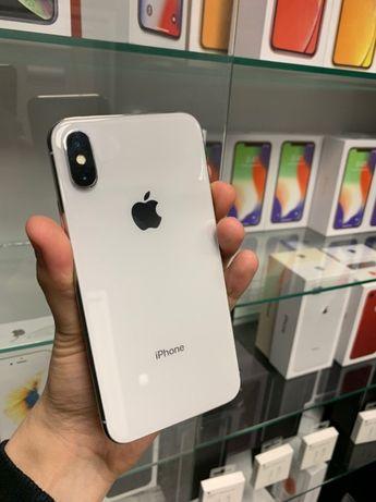 iPhone 10 X - 64 GB - Silver Neverlock! Apple 8/Plus/Xs/Xr/Max с гаран
