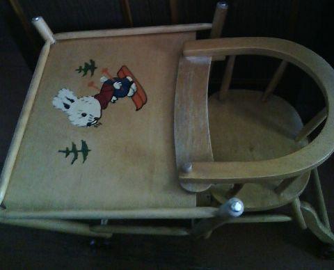 Детский раскладной стол-стул