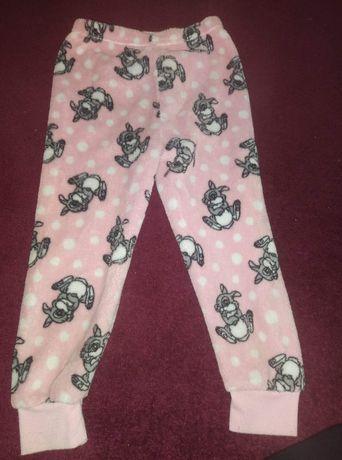Spodnie na zime dla dziewczynki