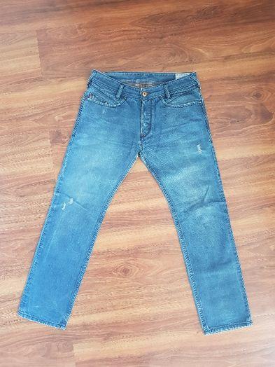 Spodnie jeans Diesel męskie