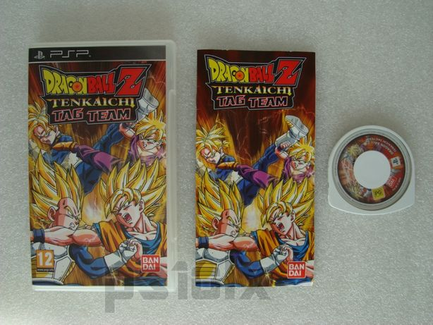 dragon ball z tenkaichi tag team playstation portable psp